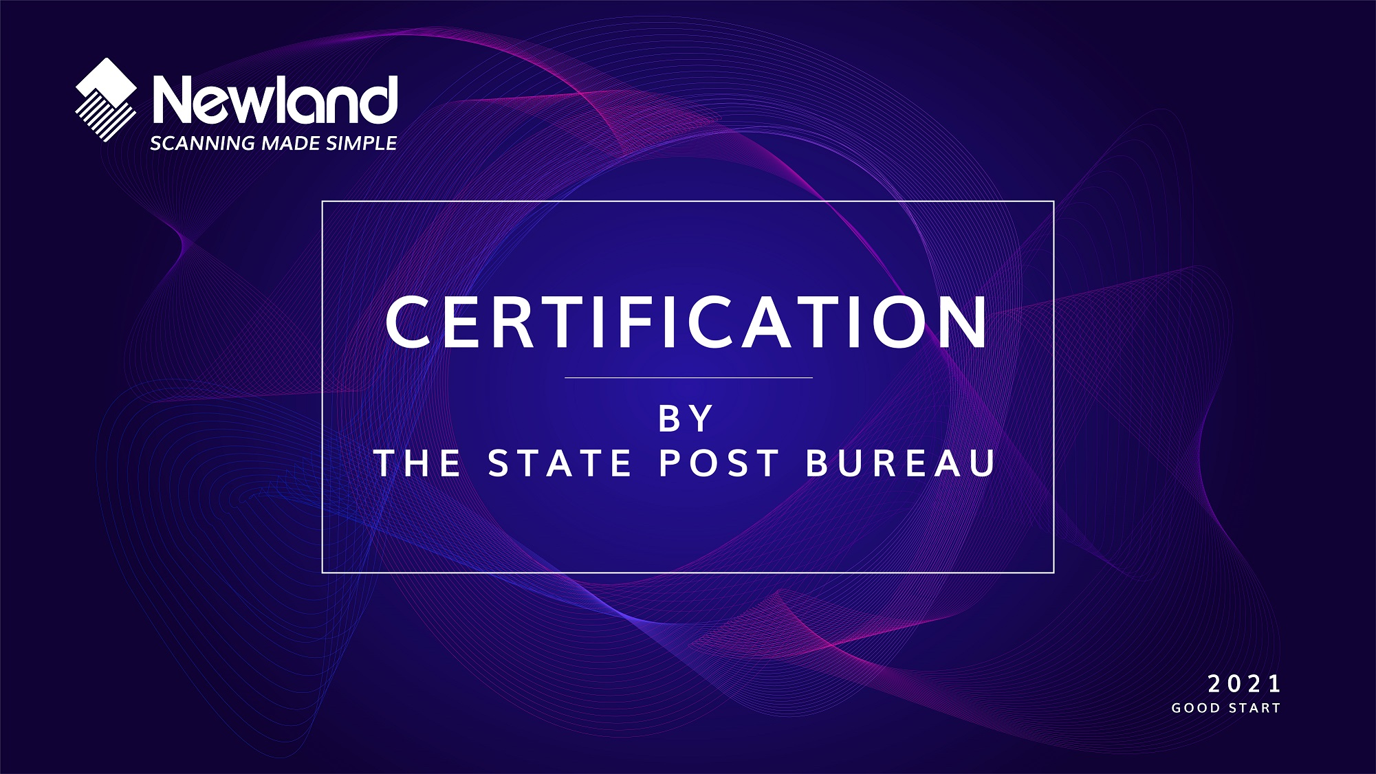 Newland is the only certified AIDC company by China Post Burea