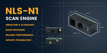 Newland N1 OEM Scan Engine. The Smallest 2D OEM Engine.