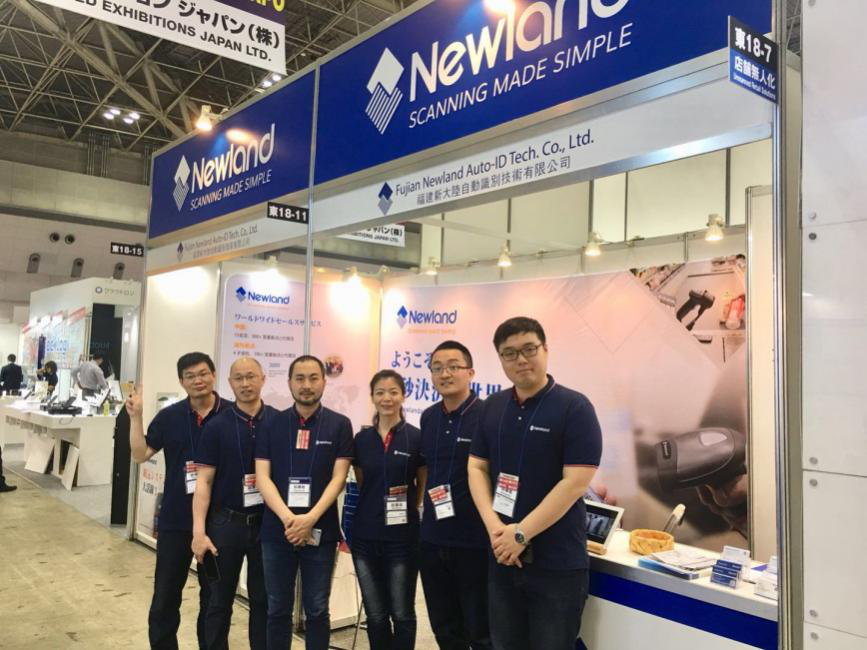 Newland sets off again for Japan IT Week Spring 2018